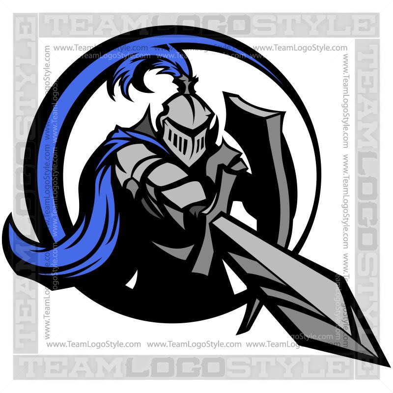knight logo vector clipart knight