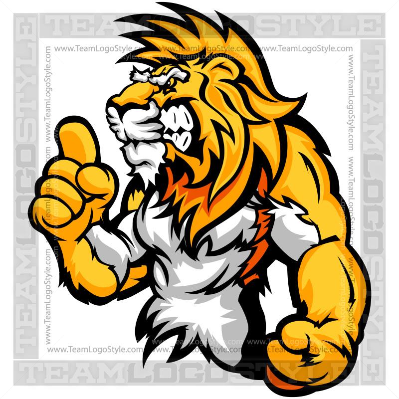 cartoon lion clip art vector clipart lion rh teamlogostyle com