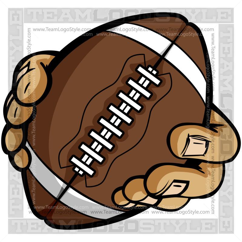animated clip art of football - photo #35