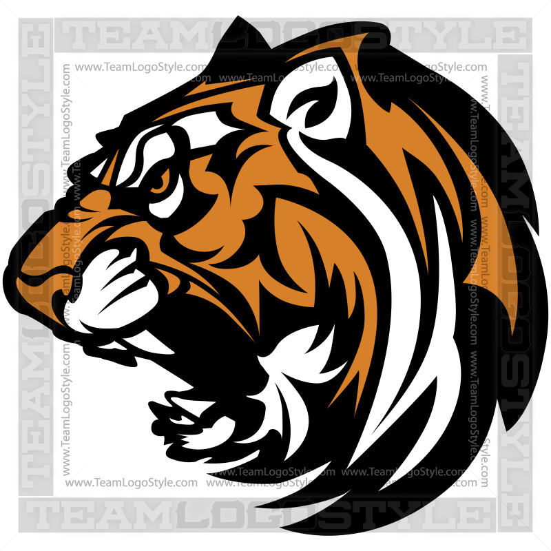 tiger logo vector clipart tiger