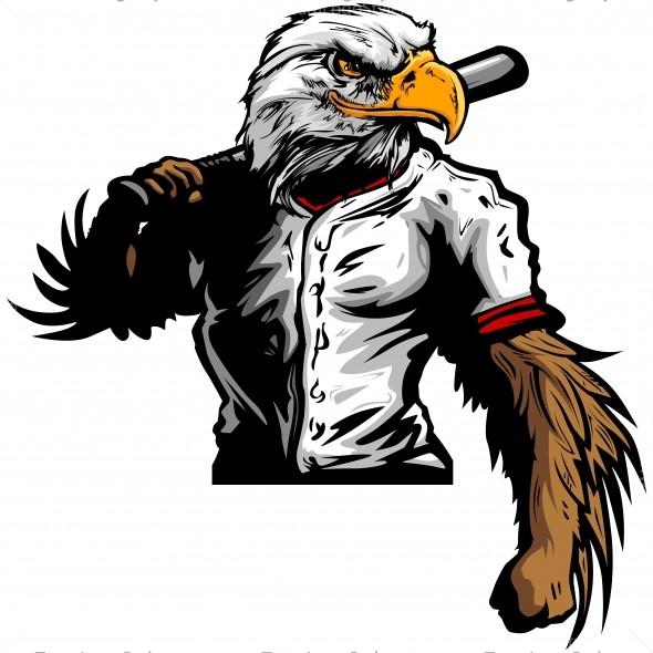 eagle baseball player clip art vector clipart eagle rh teamlogostyle com clipart eagle scout clipart eagle scout