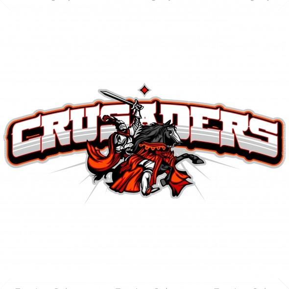 Crusaders Logo crusaders team logo - vector clipart crusaders