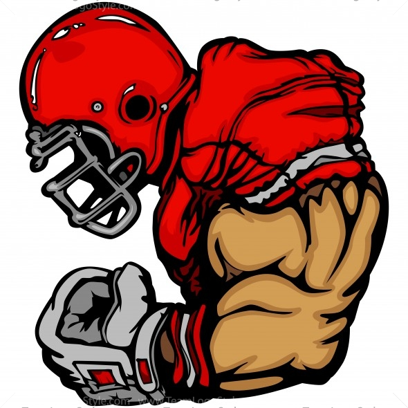 Vector Clipart Strong Arm Player
