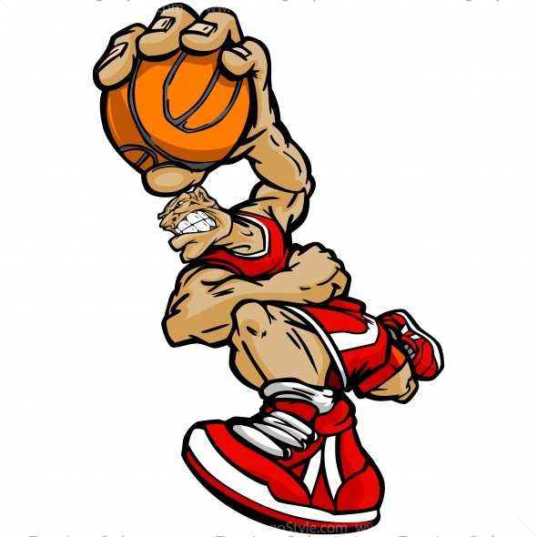 Basketball Player Clip Art Vector Clipart Player