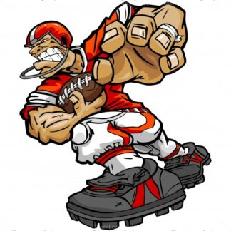Football player different kinds of sports clipart - Clipartix