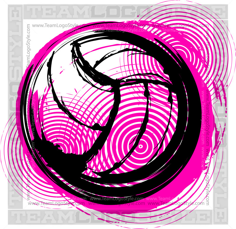 volleyball vector art
