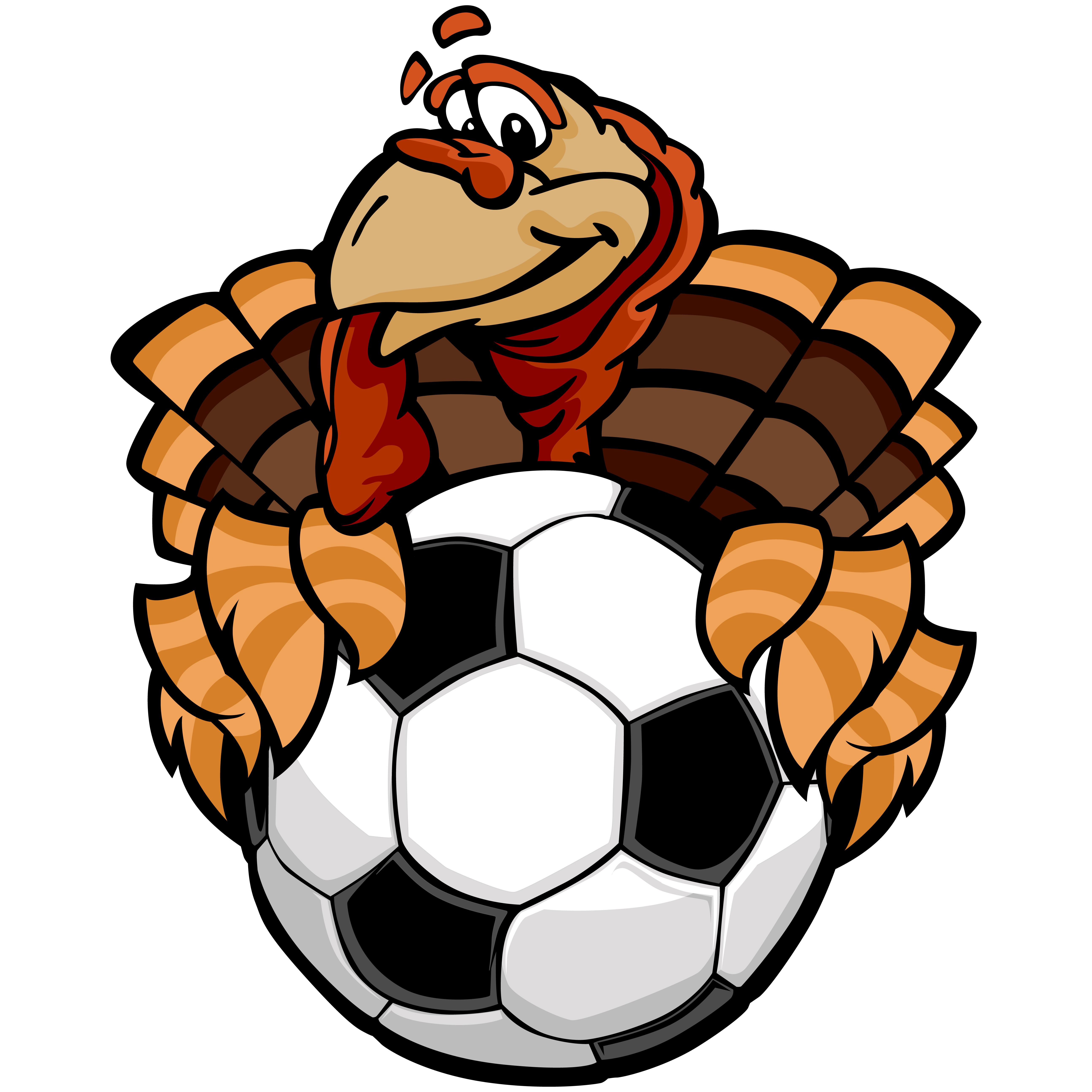 Thanksgiving Turkey Football Clip Art Thanksgiving Turkey | Etsy